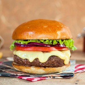 Coffret cheeseburger Black Angus Bio