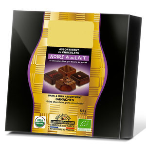 Coffret assortiment de 16 Chocolats Fins