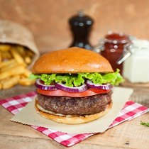 Coffret Bio : Burger Black Angus et ses potatoes